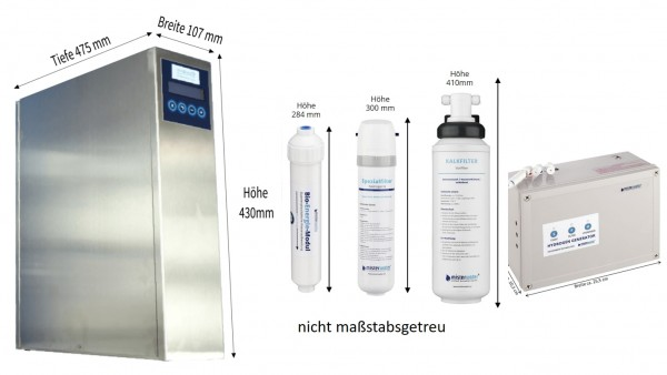 Wasserfiltersystem New Generation DELUXE